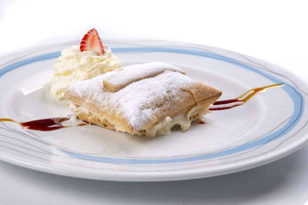 Nougat pastry