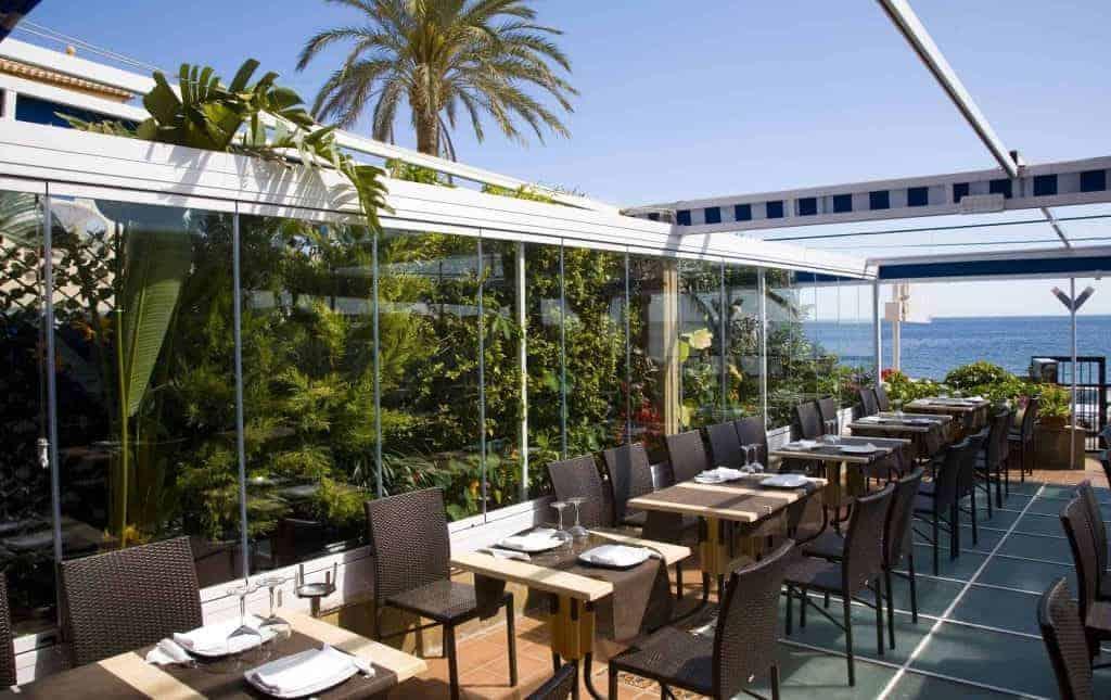 Terrace restaurant Pepe y Estrella
