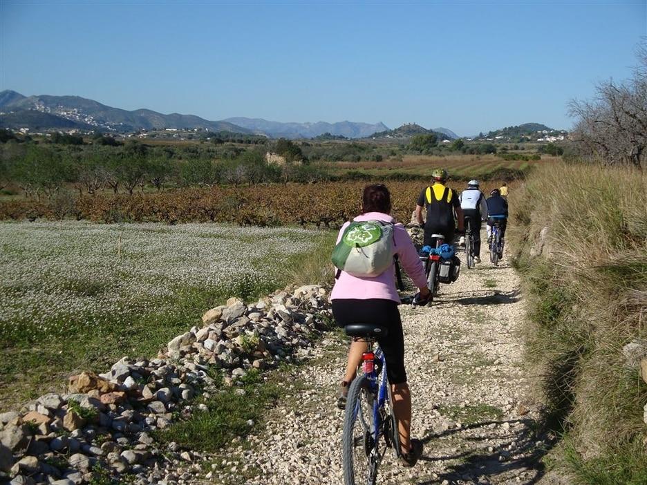 rutas en bicicleta Javea